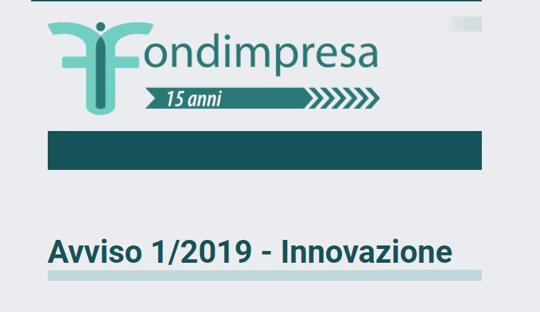 Bando Fondimpresa 2019
