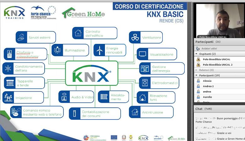 Registrazione webinar KNX