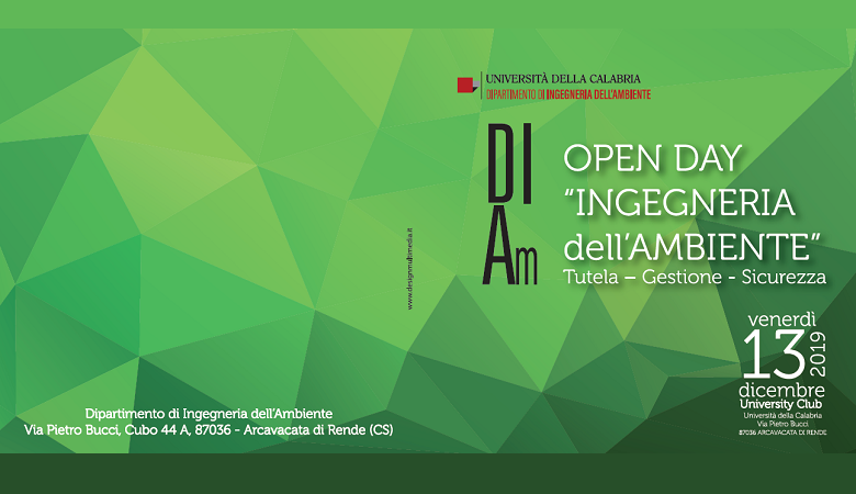Open Day Ingegneria dell'Ambiente
