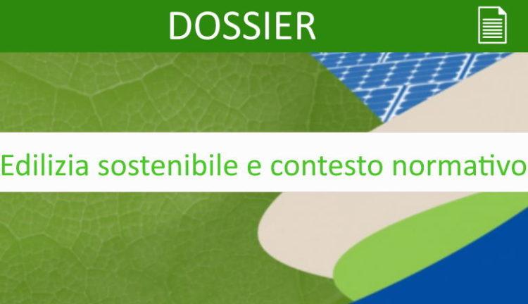 Edilizia sostenibile e contesto normativo