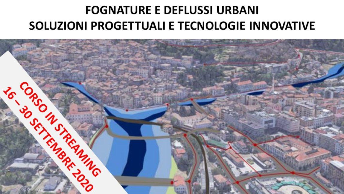 Fognature e deflussi urbani: soluzioni progettuali e tecnologie innovative