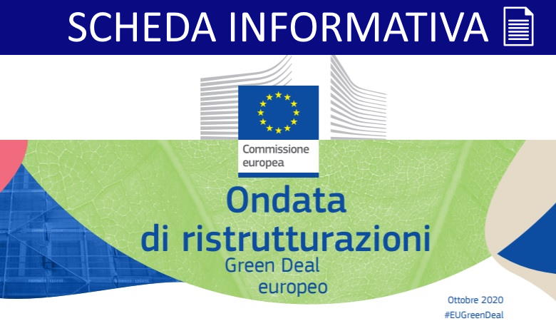 Pubblicata la strategia EU Renovation Wave